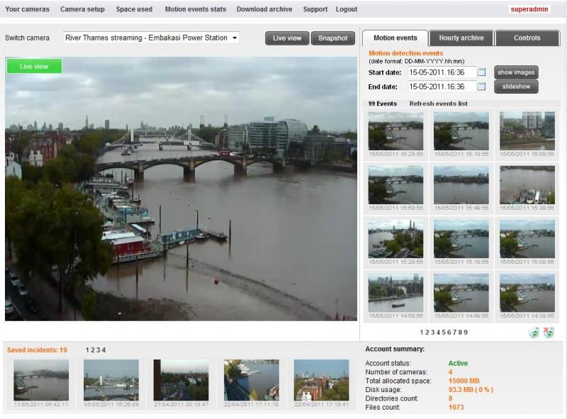 Live video streaming construction monitoring project management ...